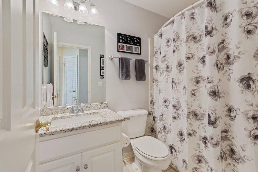 Real Estate Photography - 705 Prescott Court, Naperville, IL, 60563 - 2nd Bathroom