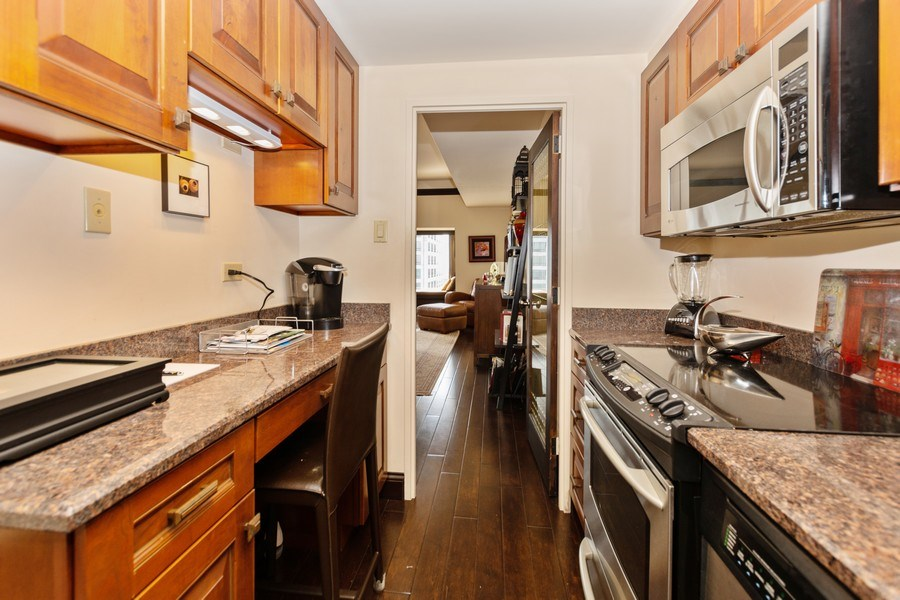 Real Estate Photography - 175 E. DELAWARE Place, Unit 4503, Chicago, IL, 60611 - Kitchen