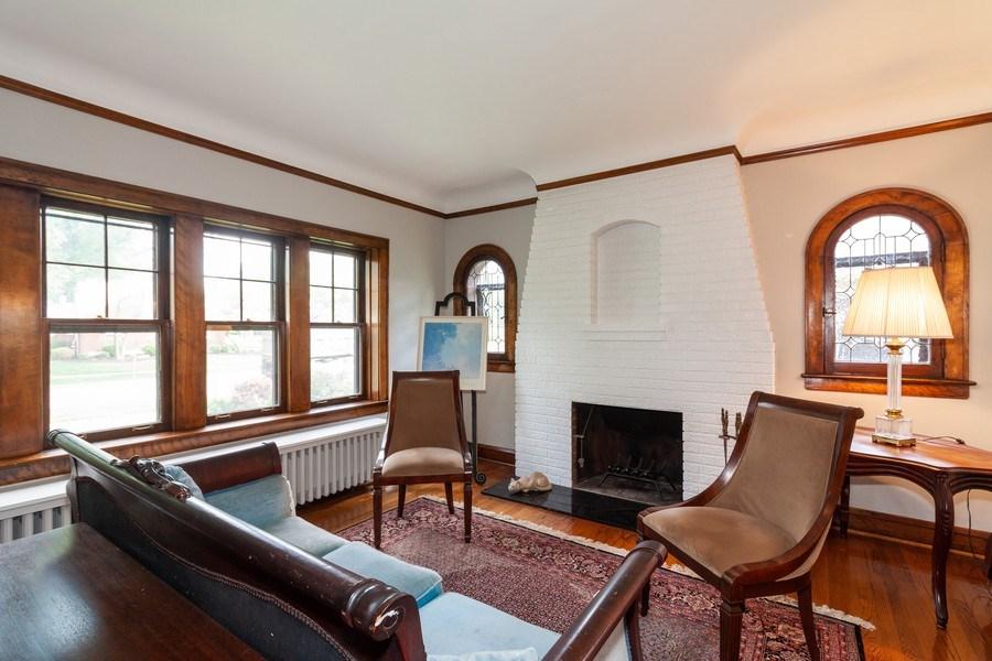 Real Estate Photography - 344 S. Edgewood Avenue, La Grange, IL, 60525 - Living Room