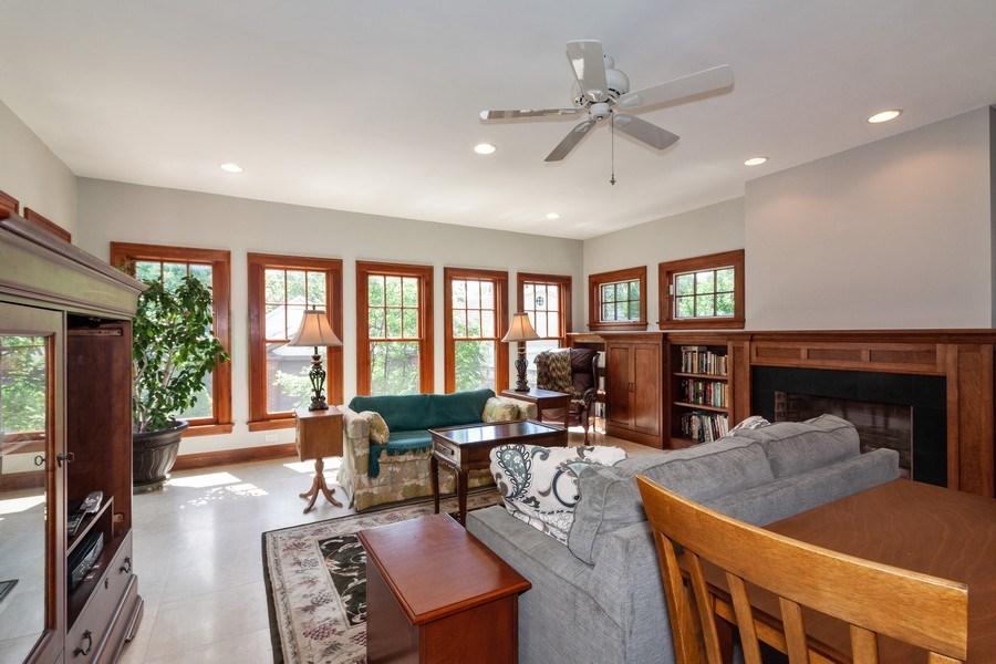 Real Estate Photography - 344 S. Edgewood Avenue, La Grange, IL, 60525 - Family Room
