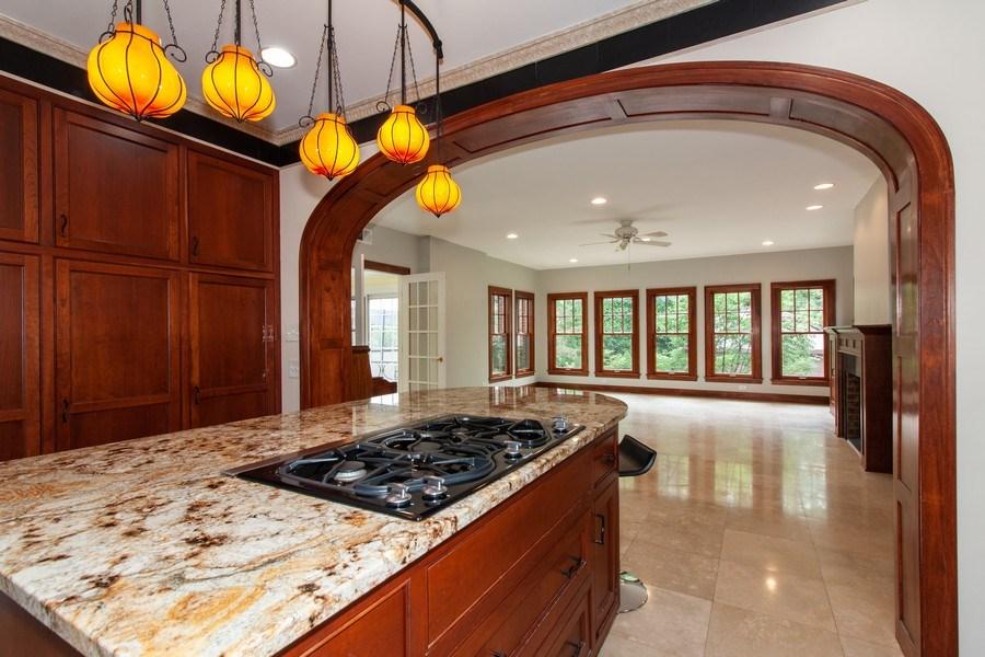 Real Estate Photography - 344 S. Edgewood Avenue, La Grange, IL, 60525 - Family Room / Kitchen