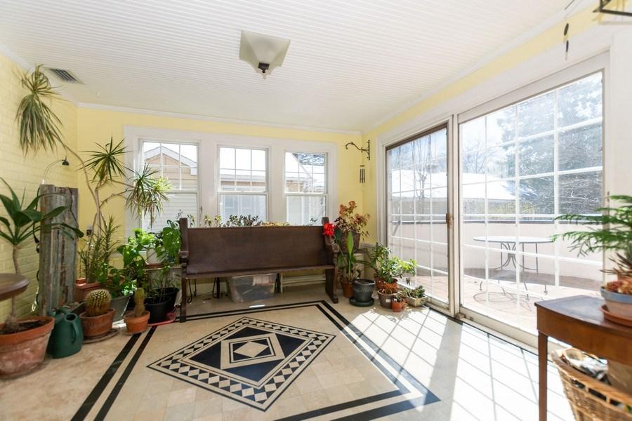 Real Estate Photography - 344 S. Edgewood Avenue, La Grange, IL, 60525 - Sun Room