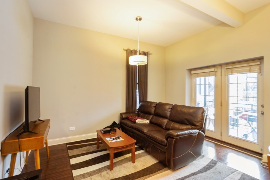 Real Estate Photography - 1312 N. Claremont Avenue, Chicago, IL, 60622 - Living Room