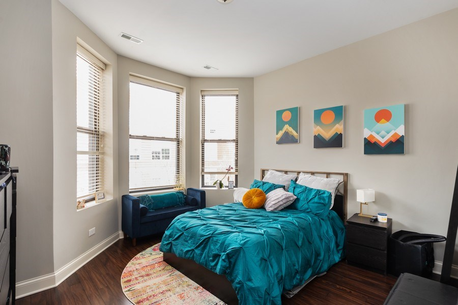 Real Estate Photography - 1312 N. Claremont Avenue, Chicago, IL, 60622 - Master Bedroom