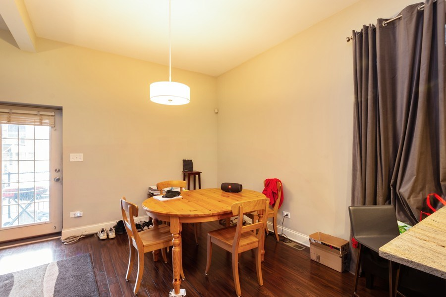 Real Estate Photography - 1312 N. Claremont Avenue, Chicago, IL, 60622 - Dining Room