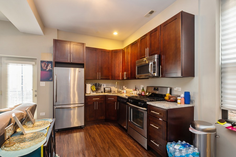 Real Estate Photography - 1312 N. Claremont Avenue, Chicago, IL, 60622 - Kitchen