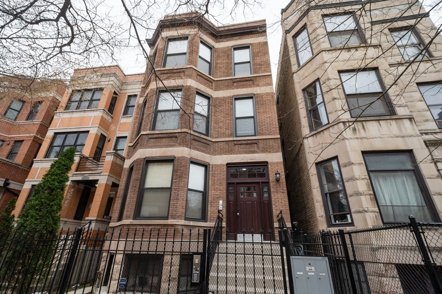 Real Estate Photography - 1312 N. Claremont Avenue, Chicago, IL, 60622 - Front View