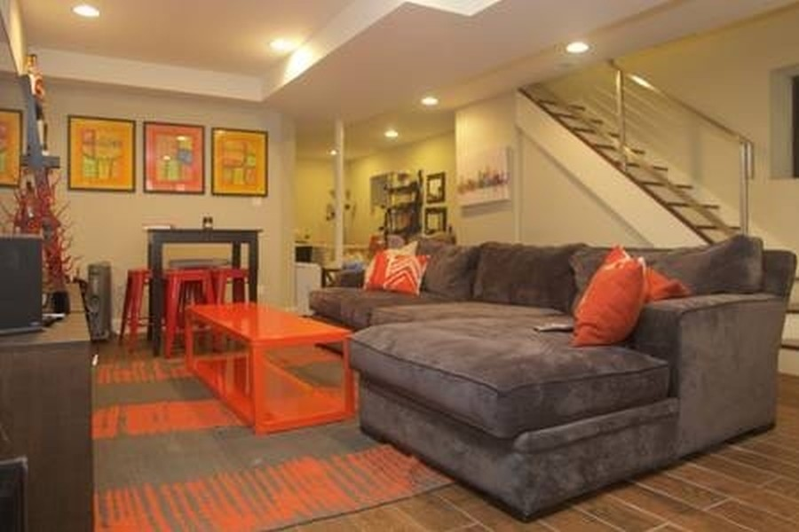 Real Estate Photography - 1312 N. Claremont Avenue, Chicago, IL, 60622 - Family Room Duplex