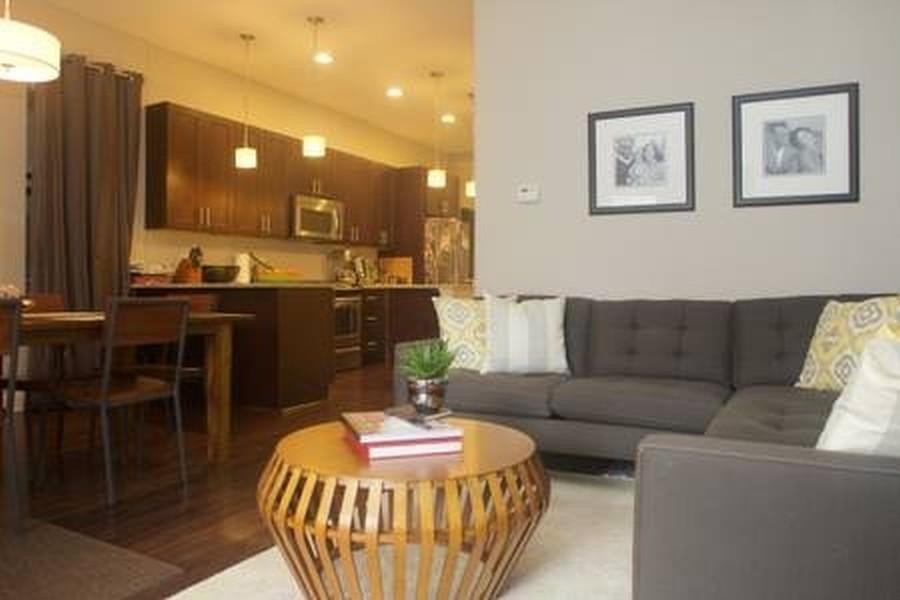 Real Estate Photography - 1312 N. Claremont Avenue, Chicago, IL, 60622 - Living Duplex