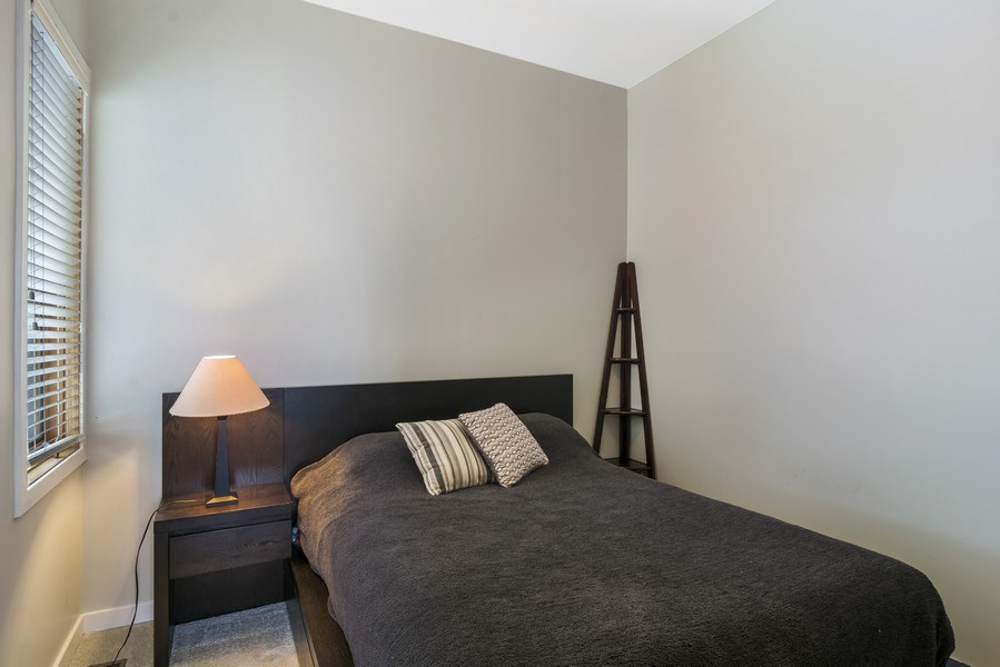 Real Estate Photography - 2125 N. DAMEN Avenue, Unit 4, Chicago, IL, 60647 - 2nd Bedroom