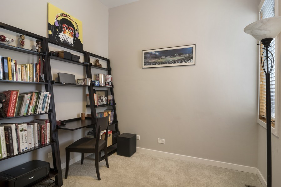 Real Estate Photography - 2125 N. DAMEN Avenue, Unit 4, Chicago, IL, 60647 - 3rd Bedroom
