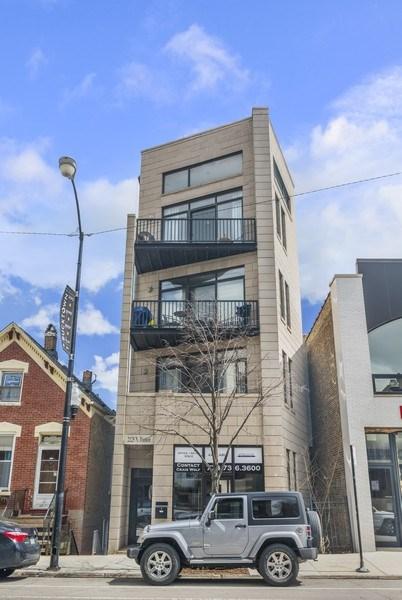 Real Estate Photography - 2125 N. DAMEN Avenue, Unit 4, Chicago, IL, 60647 - Front View