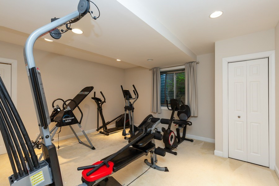 Real Estate Photography - 1711 Stone Ridge Lane, Algonquin, IL, 60102 - Exercise Room