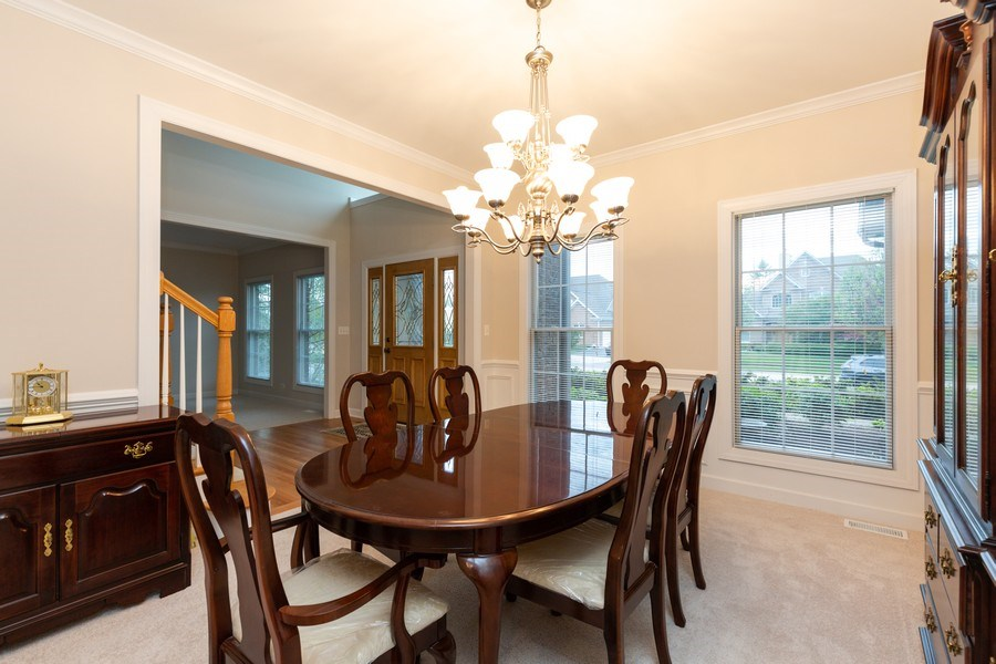 Real Estate Photography - 1711 Stone Ridge Lane, Algonquin, IL, 60102 - Dining Room