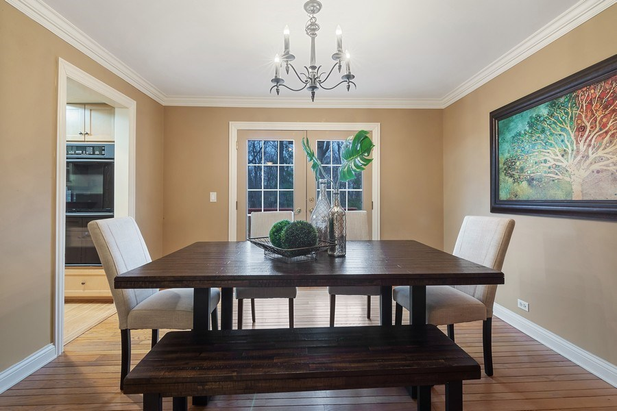 Real Estate Photography - 230 Frances Lane, Barrington, IL, 60010 - Dining Room