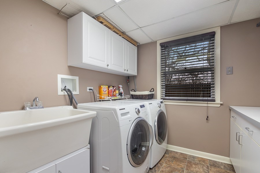 Real Estate Photography - 230 Frances Lane, Barrington, IL, 60010 - Laundry Room
