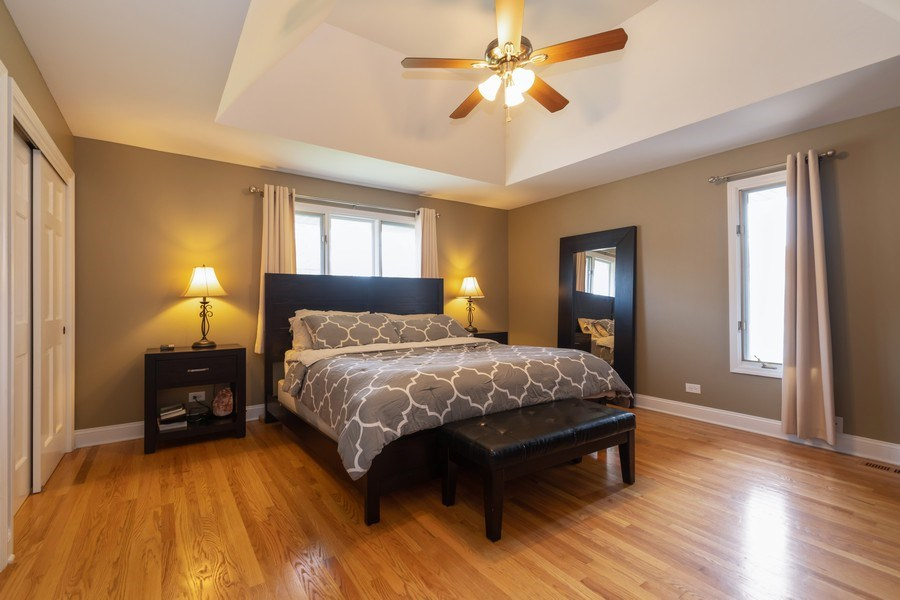 Real Estate Photography - 6022 andres Avenue, Tinley Park, IL, 60477 - Master Bedroom