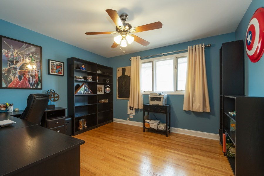 Real Estate Photography - 6022 andres Avenue, Tinley Park, IL, 60477 - 3rd Bedroom