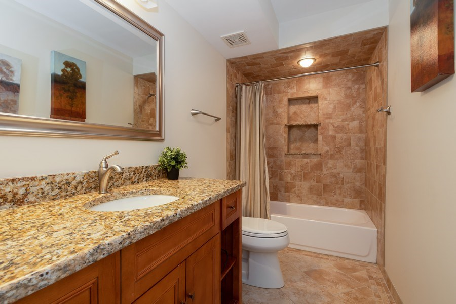 Real Estate Photography - 6022 andres Avenue, Tinley Park, IL, 60477 - Bathroom