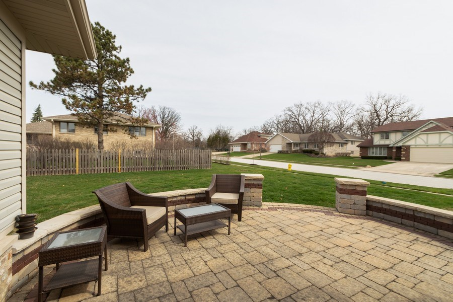 Real Estate Photography - 6022 andres Avenue, Tinley Park, IL, 60477 - Patio