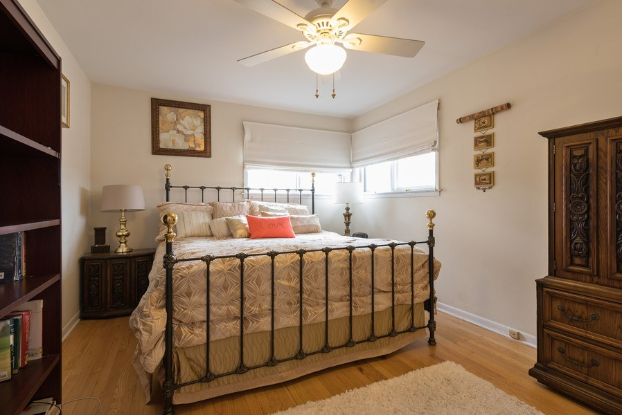 Real Estate Photography - 529 Kin Court, Wilmette, IL, 60091 - Master Bedroom