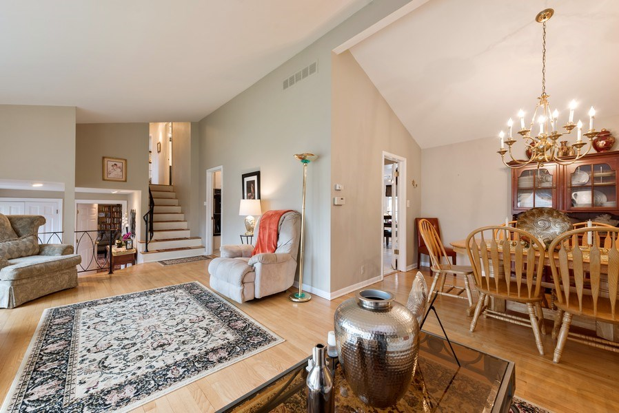 Real Estate Photography - 529 Kin Court, Wilmette, IL, 60091 - Living Room