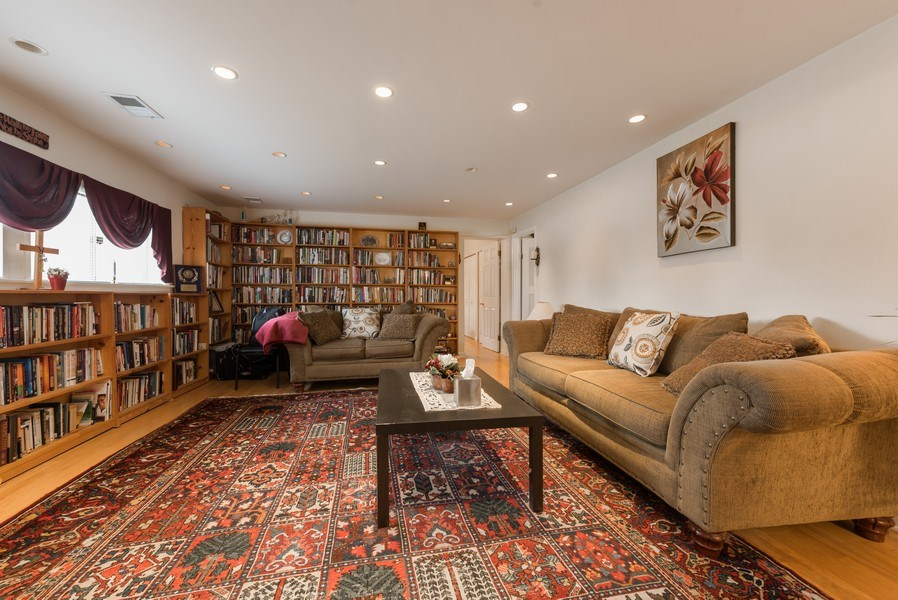 Real Estate Photography - 529 Kin Court, Wilmette, IL, 60091 - Recreation Room or Office