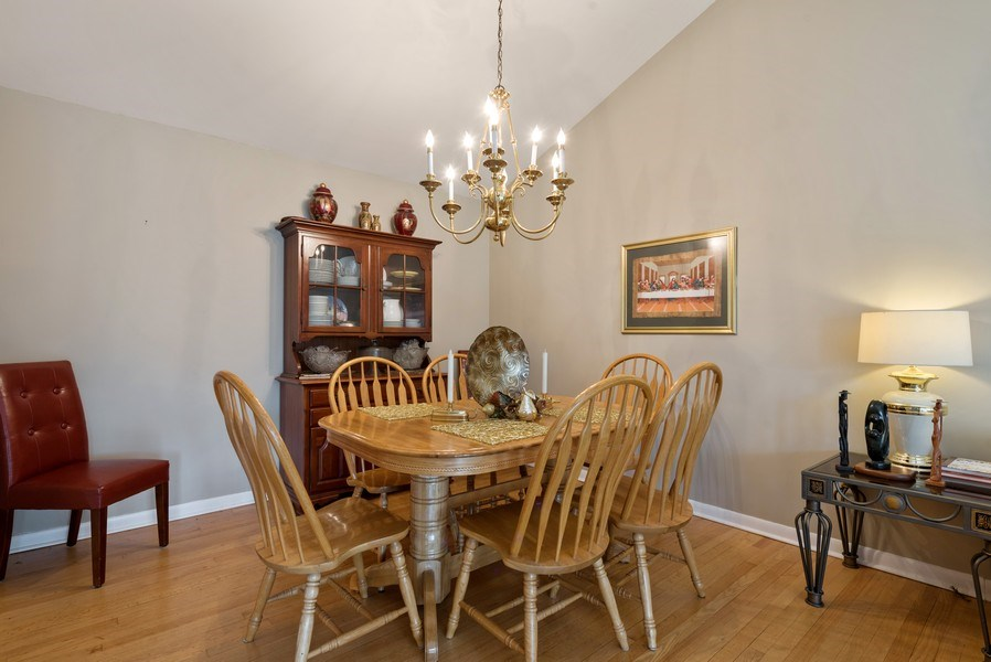 Real Estate Photography - 529 Kin Court, Wilmette, IL, 60091 - Dining Room
