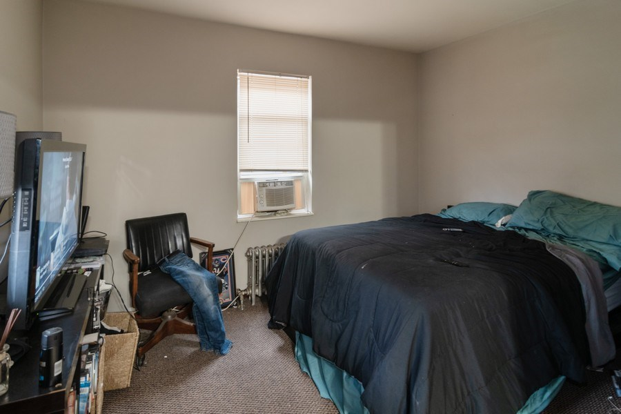 Real Estate Photography - 7136 Windsor Avenue, Berwyn, IL, 60402 - Master Bedroom