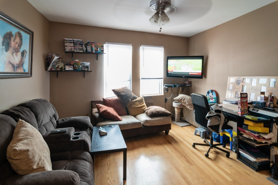 Real Estate Photography - 7136 Windsor Avenue, Berwyn, IL, 60402 - Living Room