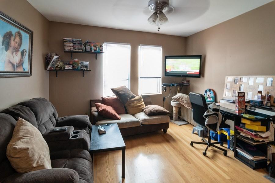 Real Estate Photography - 7136 Windsor Avenue, Berwyn, IL, 60402 - Living Room
