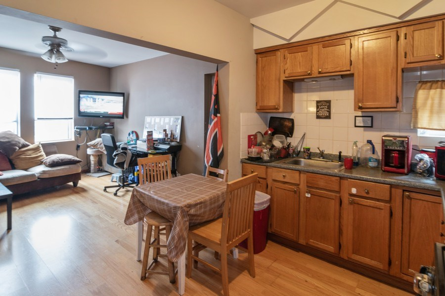 Real Estate Photography - 7136 Windsor Avenue, Berwyn, IL, 60402 - Kitchen