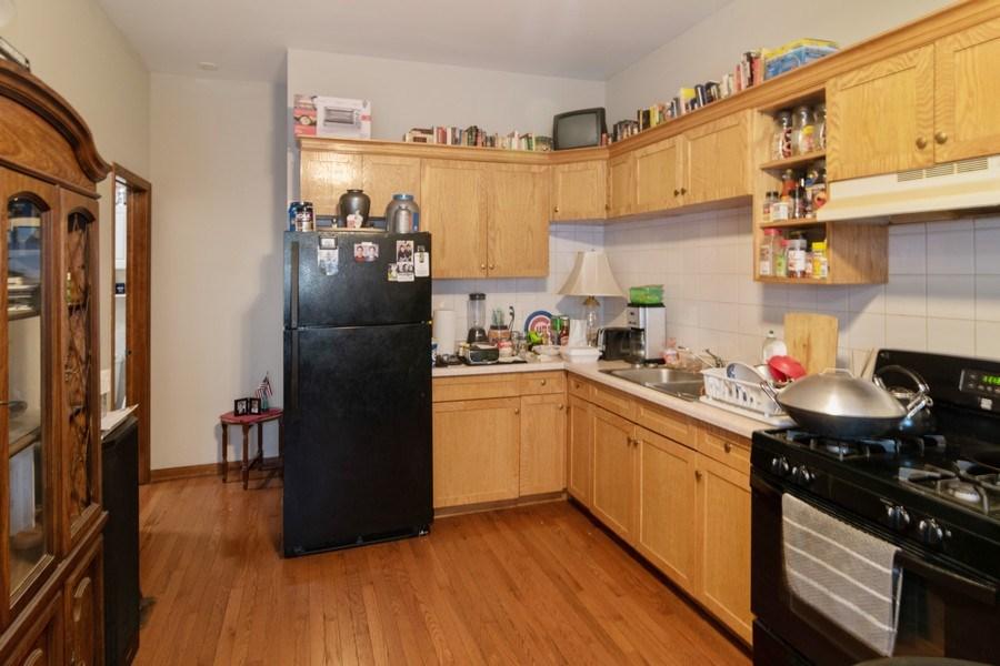 Real Estate Photography - 7136 Windsor Avenue, Berwyn, IL, 60402 - Kitchen