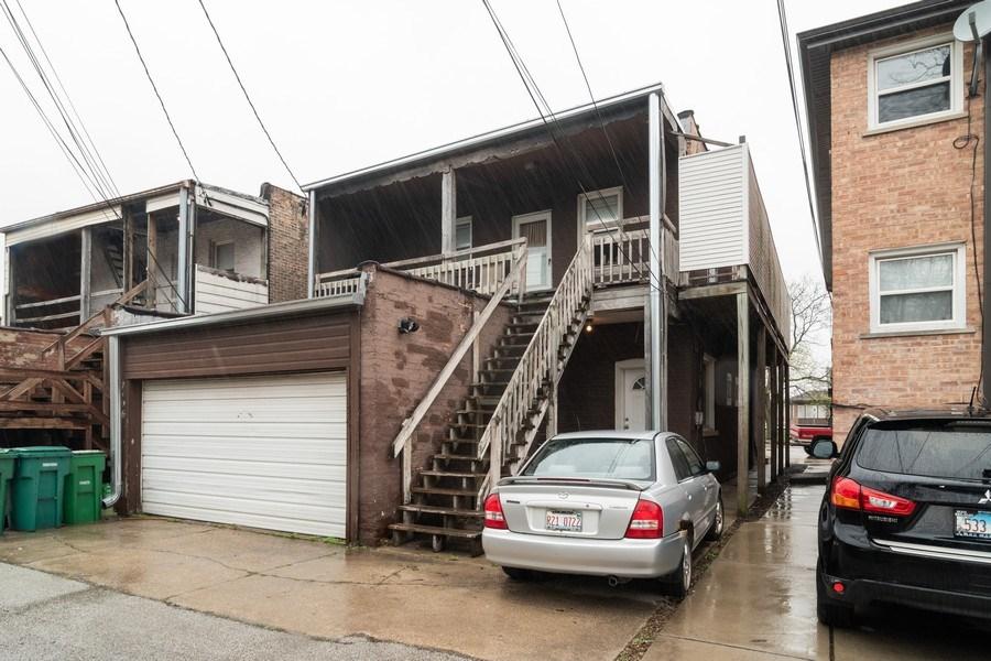 Real Estate Photography - 7136 Windsor Avenue, Berwyn, IL, 60402 - Rear View