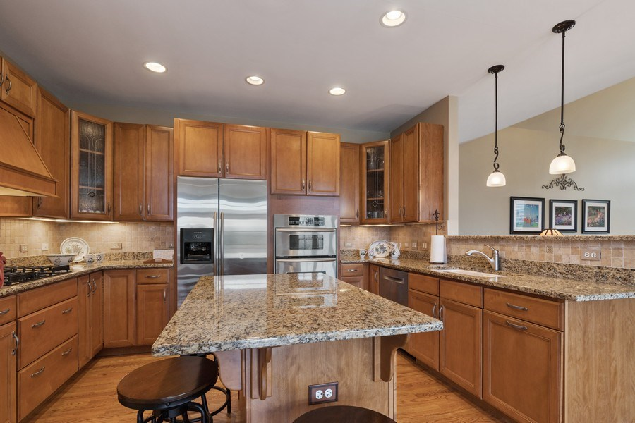 Real Estate Photography - 1770 W. Newport Court, Lake Forest, IL, 60045 - Kitchen