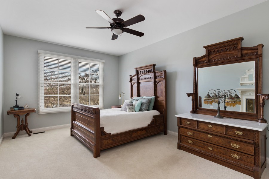 Real Estate Photography - 1770 W. Newport Court, Lake Forest, IL, 60045 - Master Bedroom