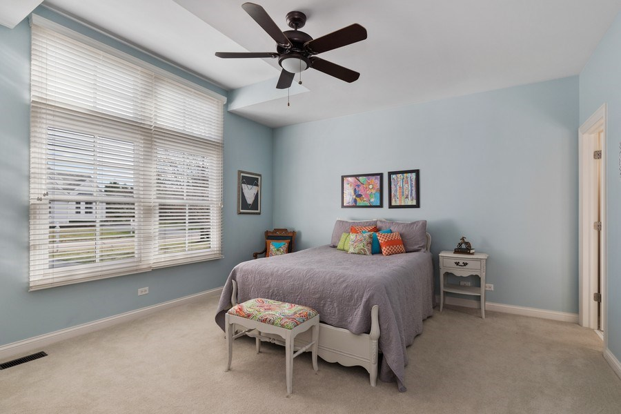 Real Estate Photography - 1770 W. Newport Court, Lake Forest, IL, 60045 - Bedroom