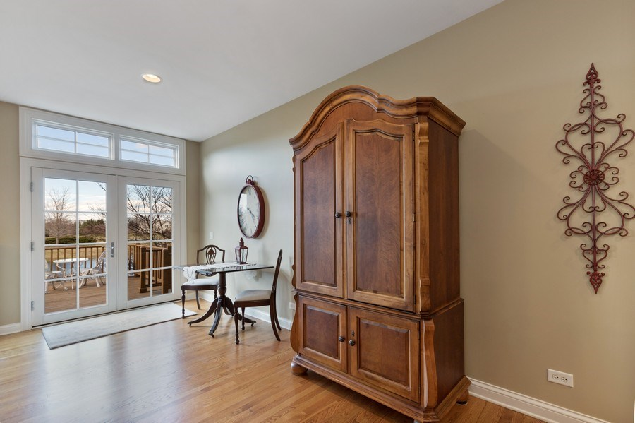 Real Estate Photography - 1770 W. Newport Court, Lake Forest, IL, 60045 - Breakfast Area