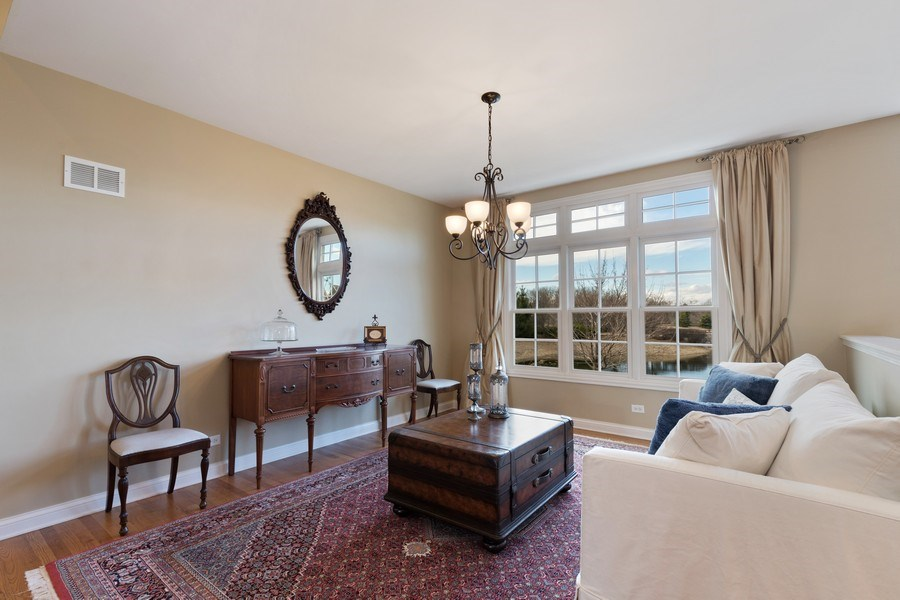 Real Estate Photography - 1770 W. Newport Court, Lake Forest, IL, 60045 - Den