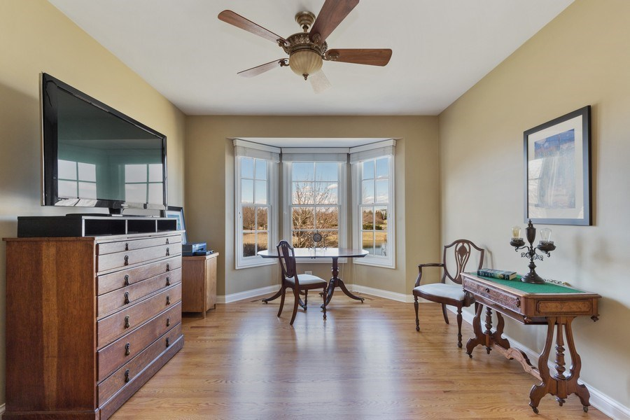 Real Estate Photography - 1770 W. Newport Court, Lake Forest, IL, 60045 - Office