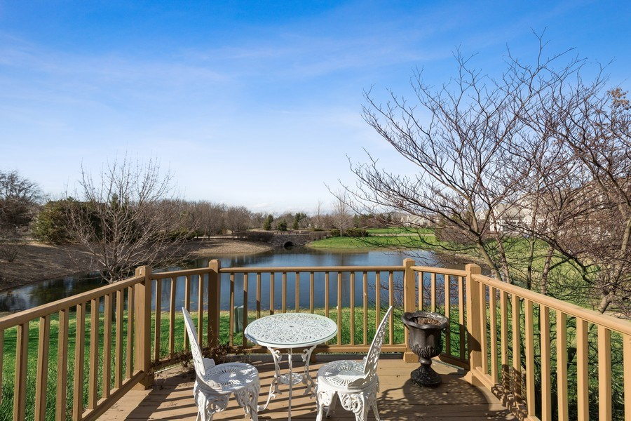 Real Estate Photography - 1770 W. Newport Court, Lake Forest, IL, 60045 - Deck