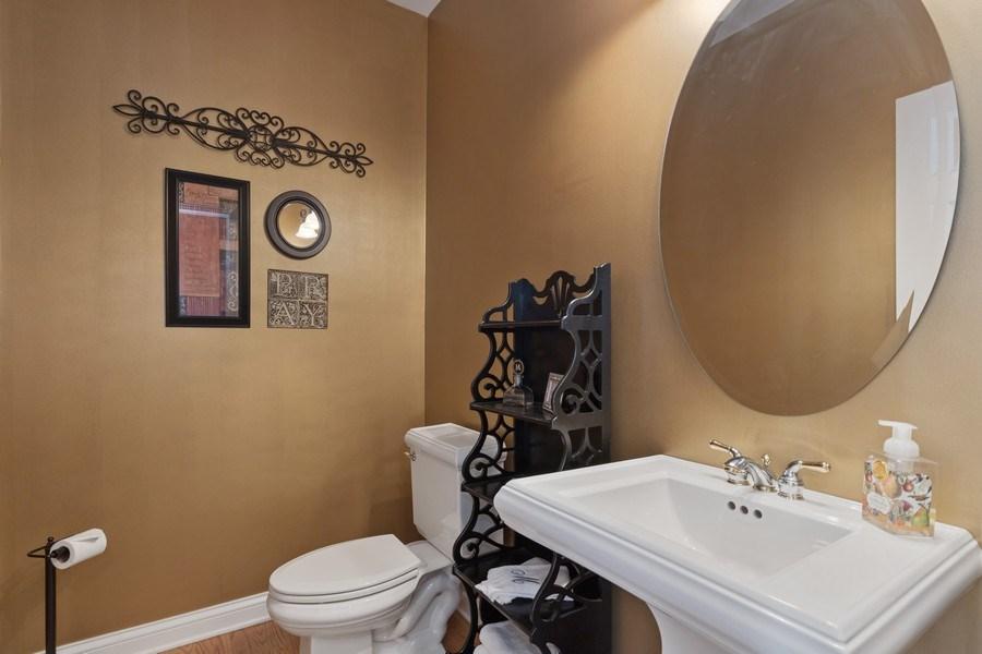 Real Estate Photography - 1770 W. Newport Court, Lake Forest, IL, 60045 - Half Bath