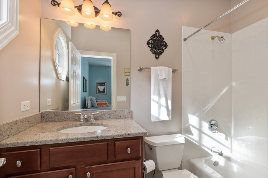 Real Estate Photography - 1770 W. Newport Court, Lake Forest, IL, 60045 - Bathroom