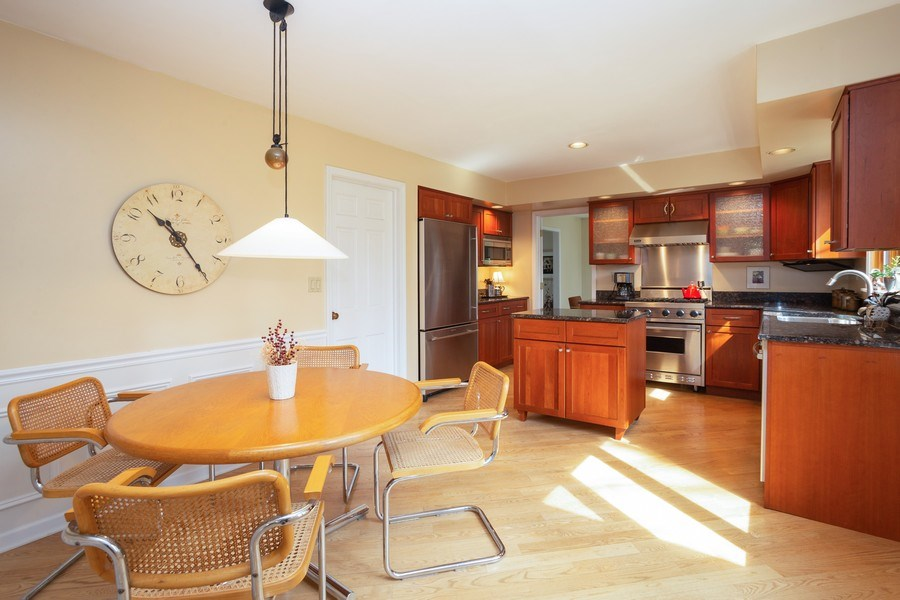 Real Estate Photography - 115 N. HARVARD Avenue, Arlington Heights, IL, 60005 - Kitchen / Breakfast Room