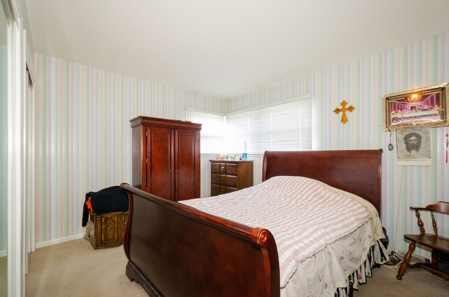 Real Estate Photography - 7632 Maple Street, Morton Grove, IL, 60053 - 3rd Bedroom