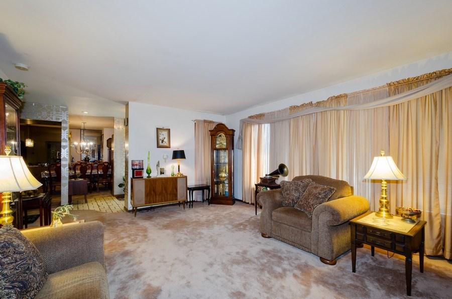 Real Estate Photography - 7632 Maple Street, Morton Grove, IL, 60053 - Living Room