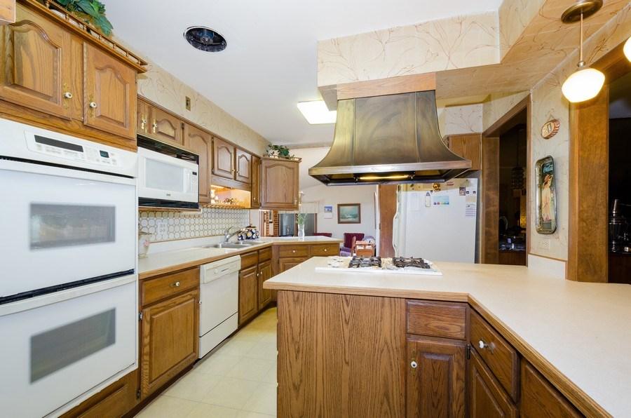Real Estate Photography - 7632 Maple Street, Morton Grove, IL, 60053 - Kitchen