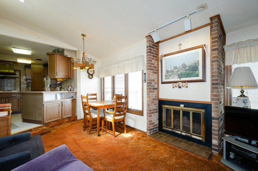 Real Estate Photography - 7632 Maple Street, Morton Grove, IL, 60053 - Family Room