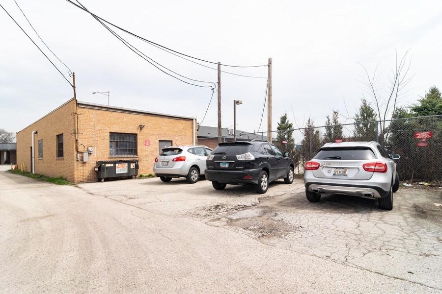 Real Estate Photography - 1433 East Oakton St, Des Plaines, IL, 60018 - Rear Parking Area