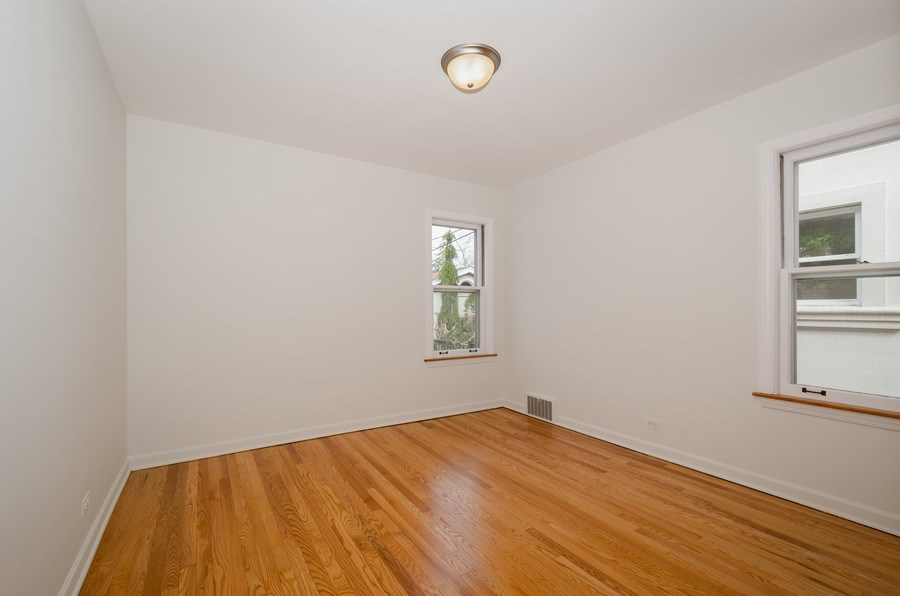 Real Estate Photography - 6132 N. Karlov Avenue, Chicago, IL, 60646 - 2nd Bedroom